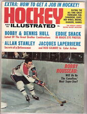 HOCKEY ILLUSTRATED Magazine  March 1967   BOBBY ROUSSEAU Cover EXMT++