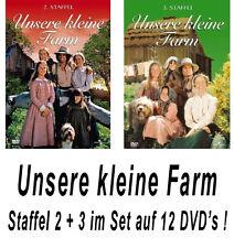 12 DVDs * UNSERE KLEINE FARM  ~ SEASON / STAFFEL 2 + 3 # NEU OVP +
