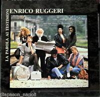Enrico Ruggeri: The Word Ai Witnesses - LP Vinyl Gatefold