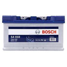 BOSCH S4 010 80Ah 740A 12V AUTOBATTERIE STARTERBATTERIE PKW-BATTERIE 31835293
