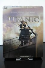 Blu-ray steelbook Titanic 2D/3D édition Française Neuf New & Sealed