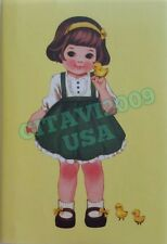 NEW! AFROCAT PAPER DOLL MATE GIRL DAILY PLANNER MEMO PAD NOTE BOOK YELLOW - USA