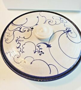 Mexican Pottery Tortilla Holder Ceramic Warmer Hand Painted