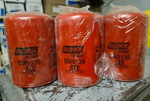 LOT OF 3 BALDWIN COOLING SYSTEM FILTERS FILTER BW5139 20JS-1908-C15