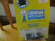 "1960 1/64th scale Corvette die cast made exclusively for ""Champion Auto Stores"""