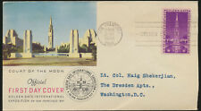 Golden Gate Exposition 1939 addressed Cachet FDC sealed Flap LOT A261