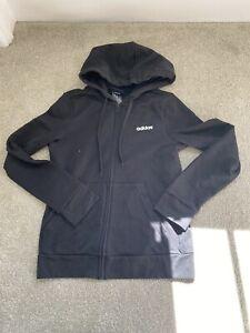 Adidas Black Hoodie - Size 12-14 Medium
