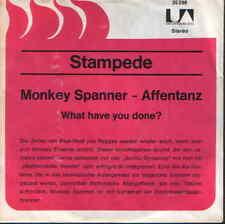 "7"" Estampida Monkey Tensor (Baile del mono) Promocover United Artistas 35 298"