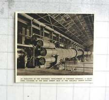 1953 Industrial Huge Cement Kiln Chilanga Cement Factory Rhodesia