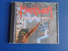 MANOWAR --- THE HELL OF STEEL - BEST OF , CD aus Heavy Metal Sammlung #A74