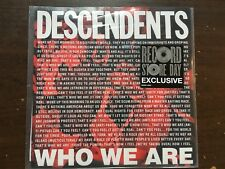 "DESCENDENTS WHO WE ARE 7"" VINYL NEW RSD 2018 RECORD STORE DAY EPITAPH MILO"