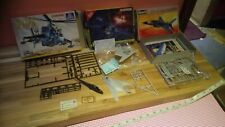 MIXED LOT F-117 NIGHTHAWK F-16 FALCON MI-24 HIND 1/144 OLD STOCK & PART BUILT