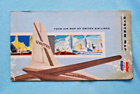 United Air Lines - System Map - 1/60