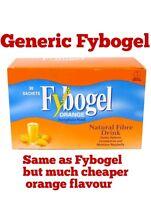 Fybogel GENERIC Orange Natural Fibre Drink (2x30) Sachets x 60 SEE DESCRIPTION