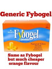 Fybogel GENERIC Orange Natural Fibre Drink (2x30) Sachets x 60 SEE DESCRIPTION
