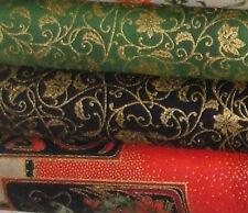 Cuarto Gordo de Navidad Panel Y Artesanía Tela 100% algodón-Para Coser o de acolchar