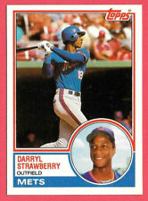 1983 Darryl Strawberry Topps Traded Rookie #108T- New York Mets - Sharp