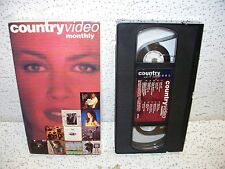 Country Video Monthly April 1994 VHS Video OOP Faith Hill Travis Tritt Blackhawk