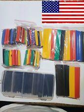 Heat Shrink Tubing 328 Assorted Pcs 21 Plus Tool Box Kit Of Black Wire Wrap