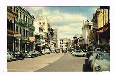 Central Avenue Panama City Foto Flatau Real Color Photo Postcard Unused '40s