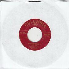 Johnny Mathis When Sunny Gets Blue b/w Wonderful! Wonderful! 45-rpm Record VG