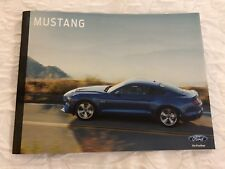 2018 FORD MUSTANG 40-page Original Sales Brochure