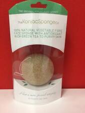 Natural Konjac Vegetable Face Sponge Korean 100% Authentic Cruelty Free Vegan
