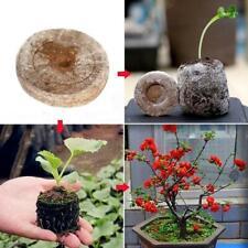 30X Nursery Peat Pellets Seeds Starter Pallet Seedling Soil Block Garden Supplie
