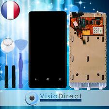Ecran complet pour Nokia Lumia 800 noir vitre tactile + LCD sur chassis + outils