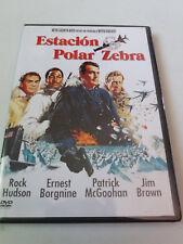 "DVD ""ESTACION POLAR ZEBRA"" JOHN STURGES ROCK HUDSON ERNEST BORGNINE JIM BROWN"