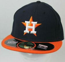 NWT HOUSTON ASTROS NEW ERA MLB BASEBALL ROAD FITTED MENS HAT SIZE 7 3/8 59FIFTY