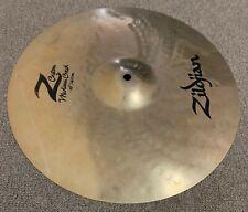 "Zildjian Z Custom 16"" Medium Crash (Used- 2 inch Crack on Cymbal)"
