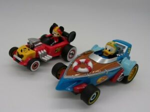 Greenhills Carrera First Disney Mickey Mouse Go Kart 65012 & Donald Duck Boat...