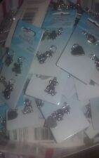 LOT OF 20 Sets: of 4 Silver Tone  Dog & Cat Charms  by Jewelry Essentials-NEW!!