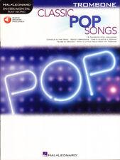 Classic Pop Songs Play-Along Trombone Posaune Noten mit Download Code
