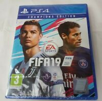 FIFA 19 Champions Edition PS4 Brand New Factory Sealed FAST FREE SHIPMENT