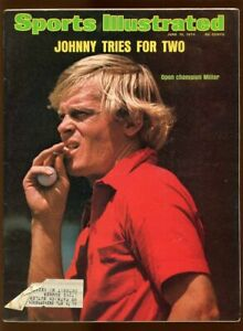 SI: Sports Illustrated June 10, 1974 Open Champion Johnny Miller Tries for Two
