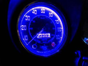 Rover Austin Mini Mayfair City Smiths Dash Clock Gauge Purple LED Full Bulb Set