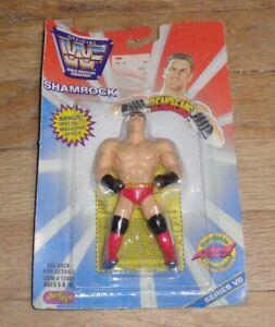 WWF WWE Just Toys Ken Shamrock bendie Bend-ems Wrestling Figure Series 7 Bendy