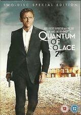 JAMES BOND Quantum of Solace DVD 2 disc Special Edition Daniel Craig spy film