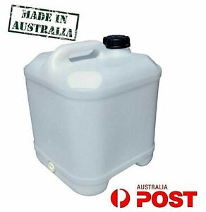 20 L LT Water Storage Cube Container Plastic Jerry Can Drum Tank Camping Caravan