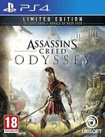 Assassins Creed Odyssey PS4 Limited Edition - NEW SEALED - Super Fast Delivery
