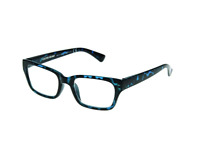 Foster Grant Reading Glasses Womens Fashion Readers Authentic Mira Blue Tortoise