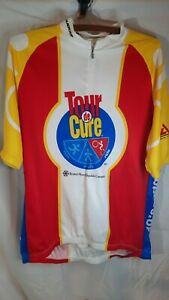 Tour De Cure XXL Sugoi Biking Jersey, Triathlon