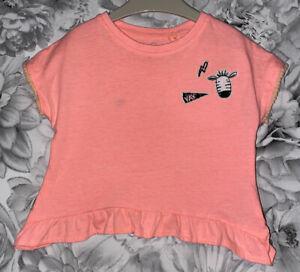 Girls Age 6-9 Months - Next T Shirt