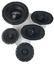 "SKAR AUDIO 6""X9""/5.25"" SK SPEAKER PKG FOR 2002-2007 DODGE CARAVAN & SUBWOOFER"