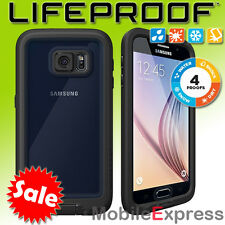 GENUINE Lifeproof Fre Shock Proof - Waterproof Case Cover for Galaxy S6 in Black