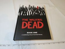 The Walking Dead book 1 by Robert Kirkman and Tony Moore hardcover comics HORROR