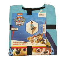 Boys Paw Patrol Pyjamas Short Summer Pjs Ages 12 Months to 4 Years