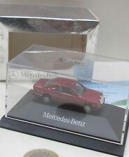 Pkwmb 002: mercedes-benz 300 CE, almadinrot met, PC